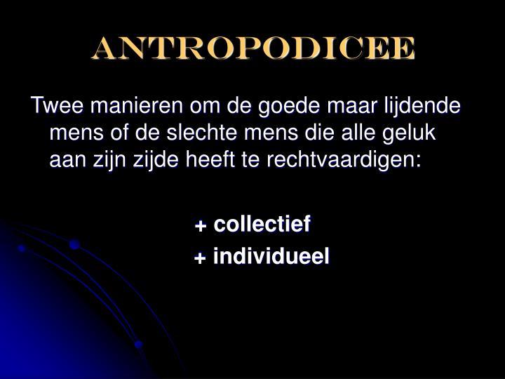 antropodicee