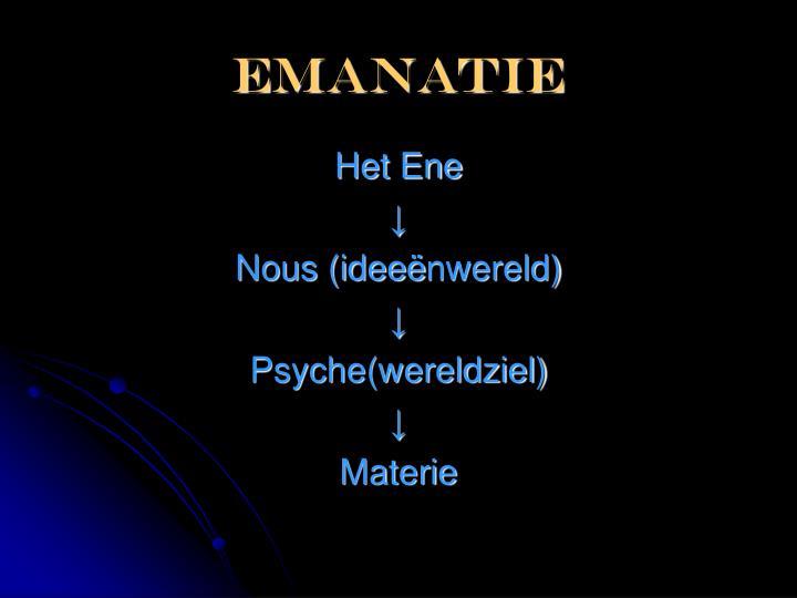 emanatie