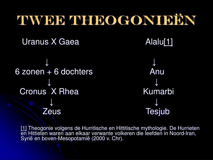 Twee theogonie