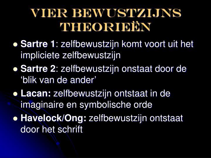 Vier bewustzijns theorie