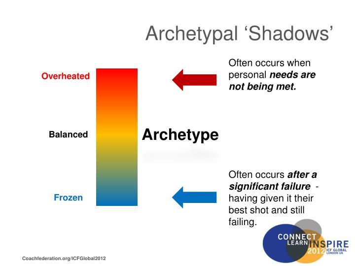 Archetypal 'Shadows'