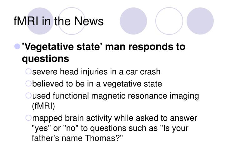 fMRI in the News