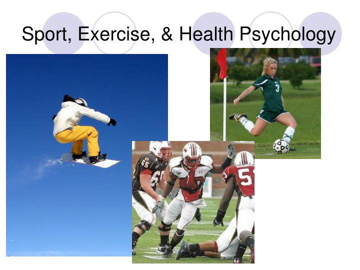 Sport exercise health psychology