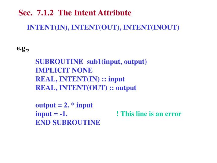 Sec.  7.1.2  The Intent Attribute