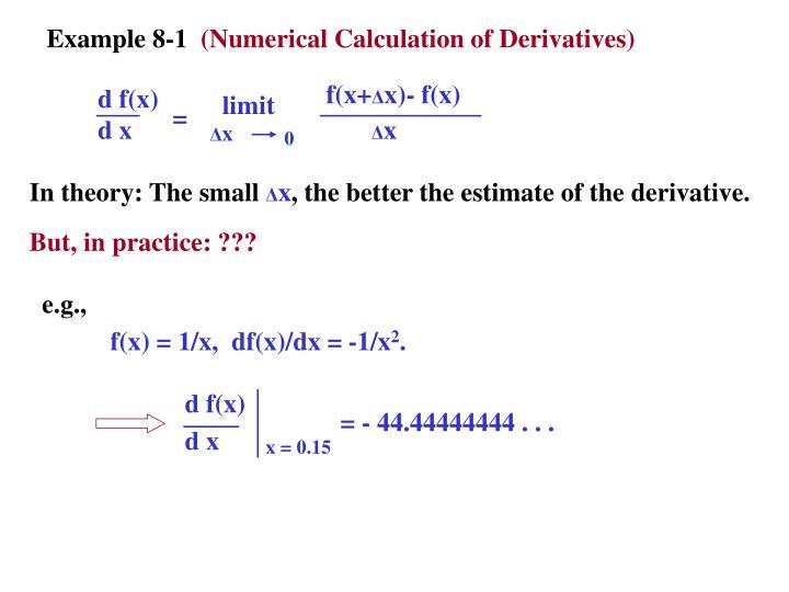 Example 8-1
