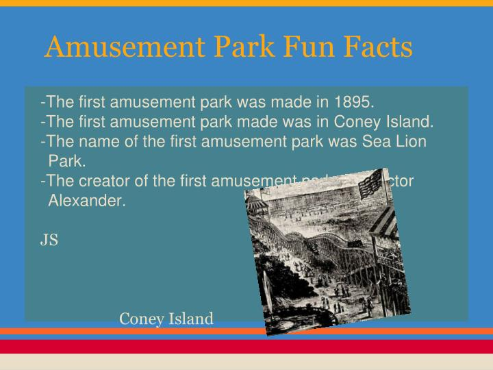 Amusement Park Fun Facts