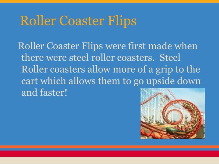 Roller Coaster Flips