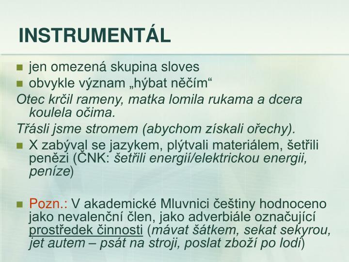 INSTRUMENTÁL