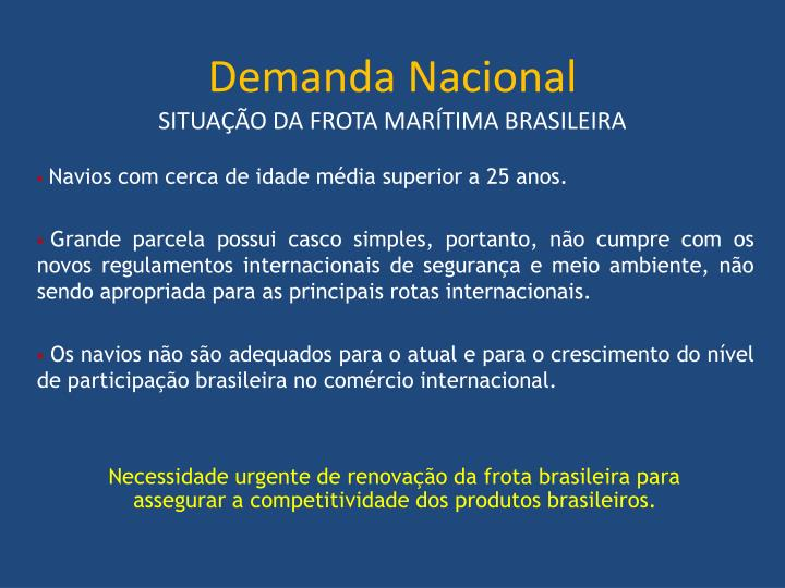 Demanda Nacional