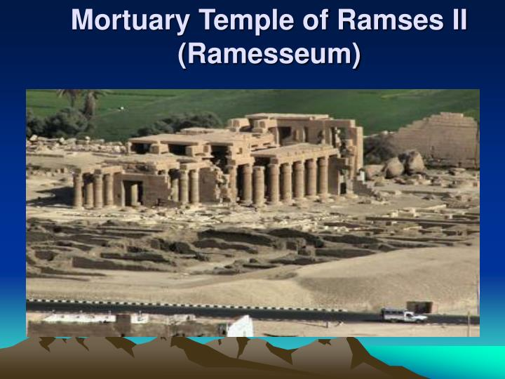 Mortuary Temple of Ramses II (Ramesseum)