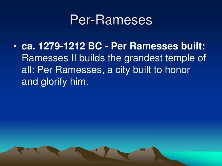 Per-Rameses