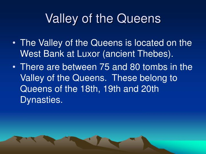 Valley of the Queens