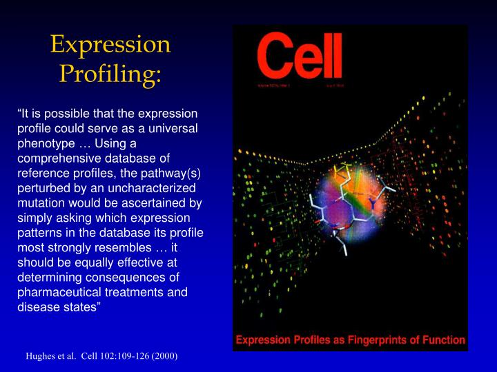 Expression Profiling: