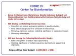 cobre iv center for bioinformatics