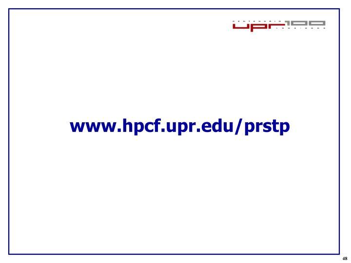 www.hpcf.upr.edu/prstp