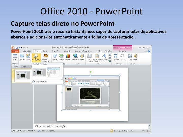 Office 2010 - PowerPoint