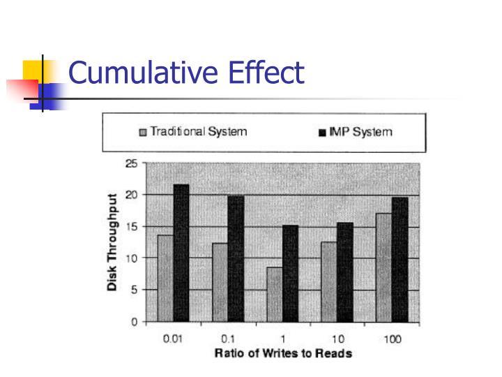 Cumulative Effect