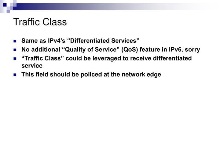 Traffic Class