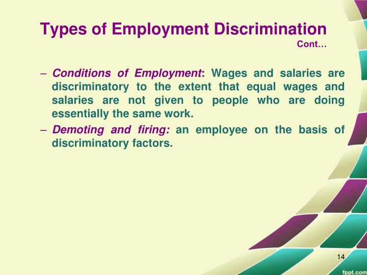 harmful effects and implications of accent discrimination Specific anti-discrimination legislation affecting the workplace the age discrimination in employment act (adea) of 1967 bans employment discrimination on the basis the employment implications of the act, which are delineated in titles i (private sector) and ii (public.