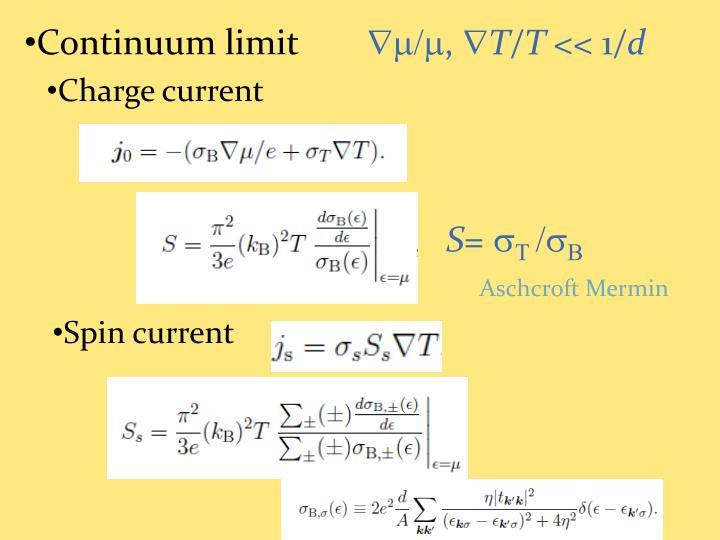 Continuum limit