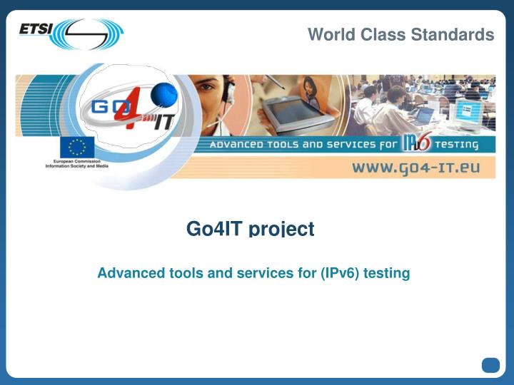 Go4IT project
