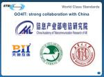 go4it strong collaboration with china