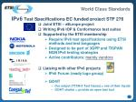 ipv6 test specifications ec funded project stf 276
