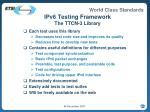 ipv6 testing framework the ttcn 3 library