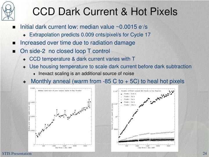 CCD Dark Current & Hot Pixels