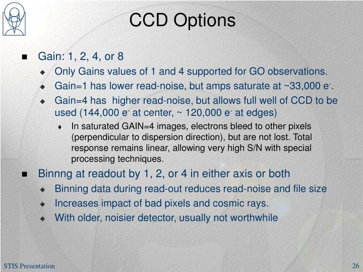 CCD Options
