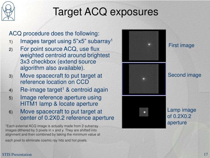 Target ACQ exposures