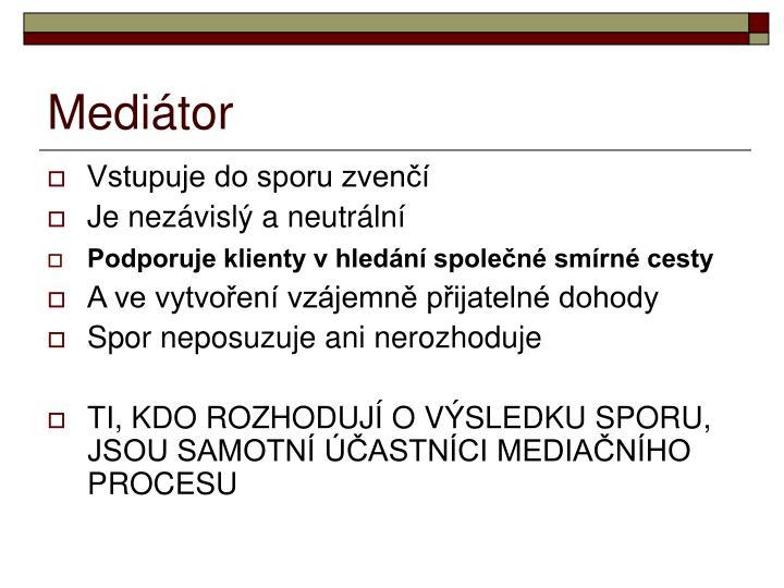 Mediátor