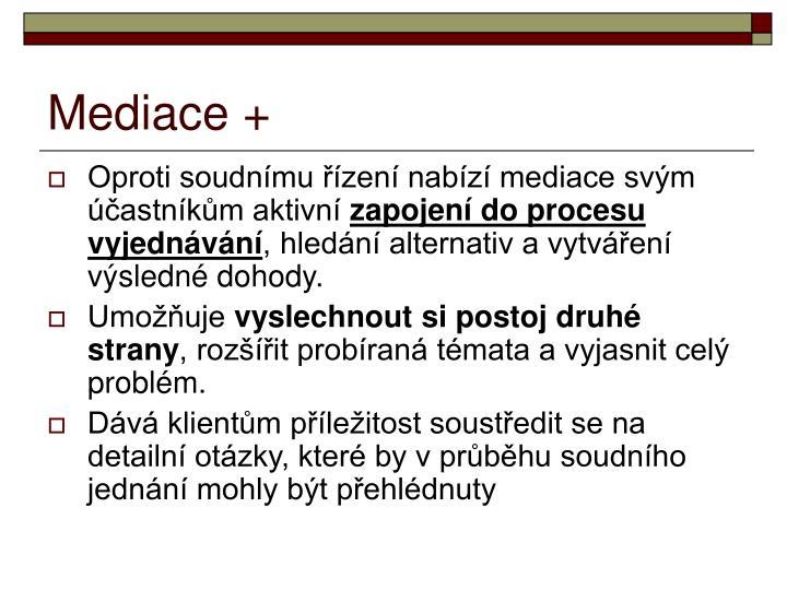 Mediace +