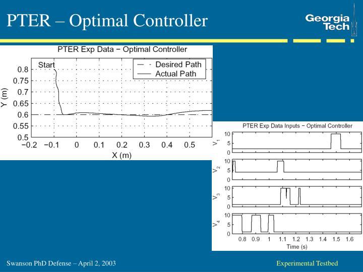 PTER – Optimal Controller