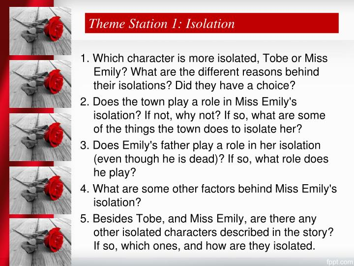 Theme Station 1: Isolation