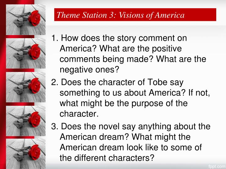 Theme Station 3: Visions of America
