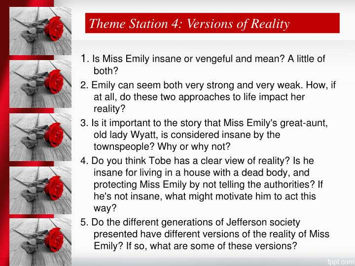 Theme Station 4: Versions of Reality