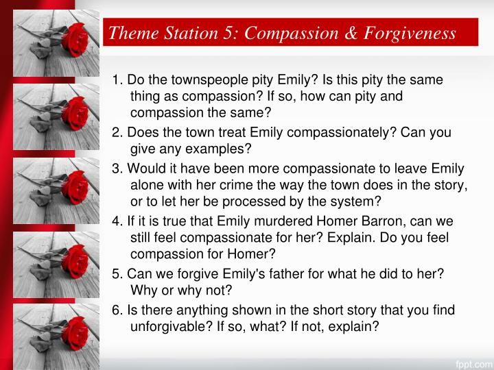 Theme Station 5: Compassion & Forgiveness