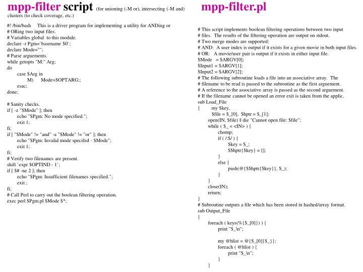 mpp-filter