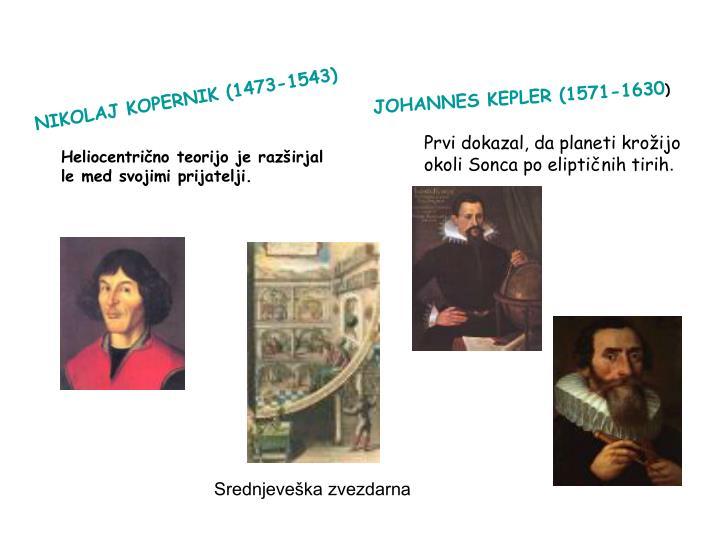 NIKOLAJ KOPERNIK (1473-1543)