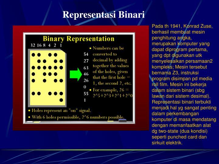Representasi Binari
