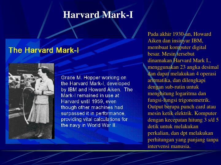 Harvard Mark-I