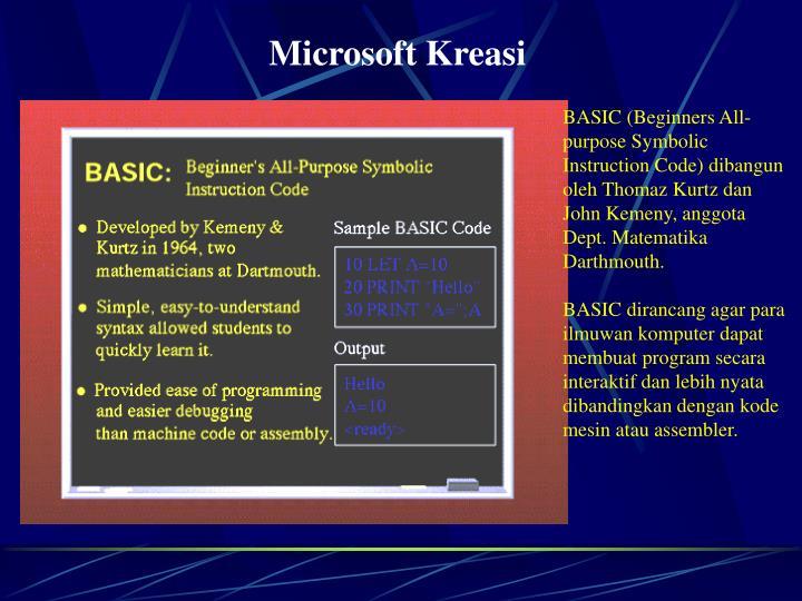 Microsoft Kreasi