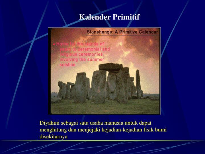Kalender Primitif