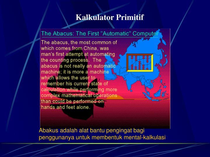 Kalkulator Primitif