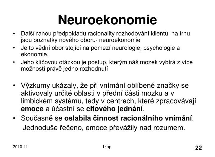 Neuroekonomie