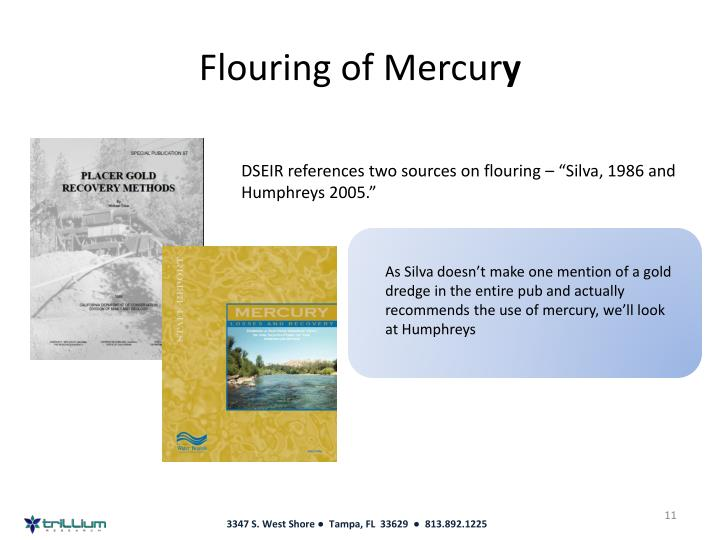 Flouring of Mercur