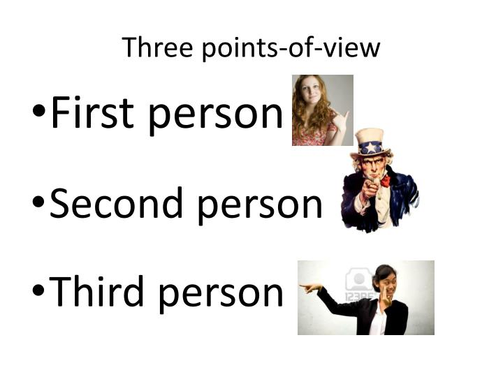 Three points-of-view