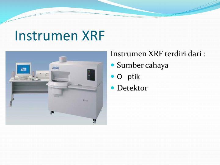 Instrumen XRF