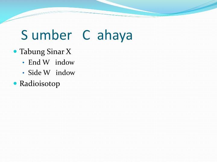 S umber   C  ahaya